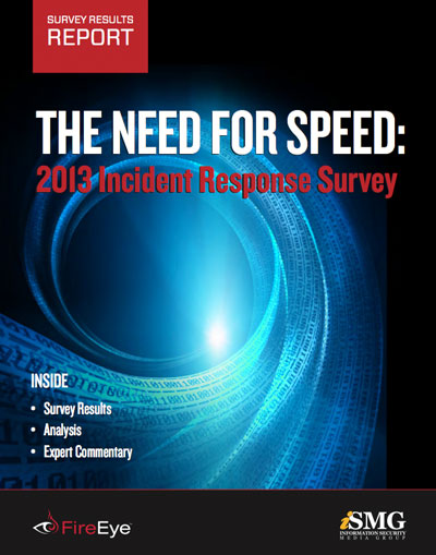 The Need for Speed: 2013 Incident Response Survey